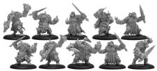 Northkin Raiders Trollblood Unit Attachment (resin/metal)